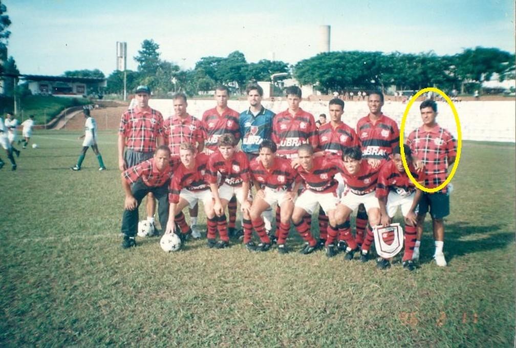 Marcos passou pela base do Flamengo e levou Lucas e Matheus (Foto: Divulgação)
