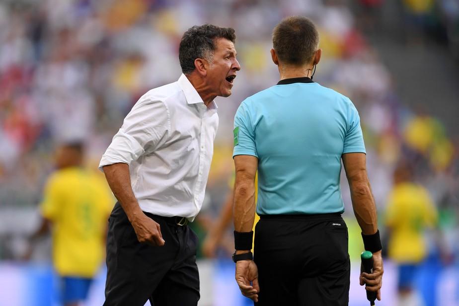Osorio reclama de juiz e cita tempo perdido com