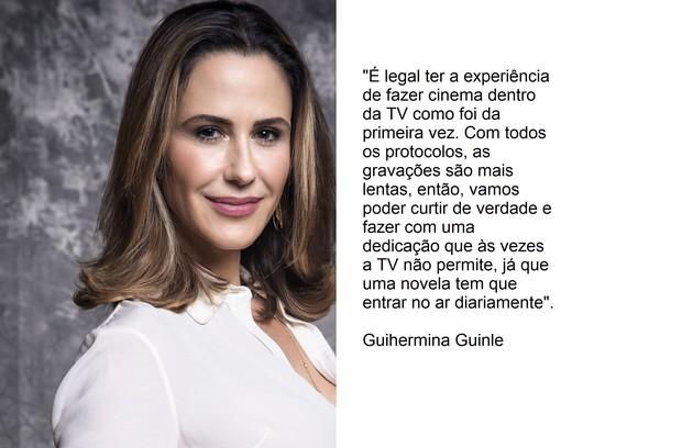 Guilhermina Guinle voltará como Pia (Foto: TV Globo)