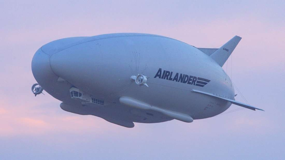 O protótipo Airlander 10  (Foto: Hybrid Air Vehicles )