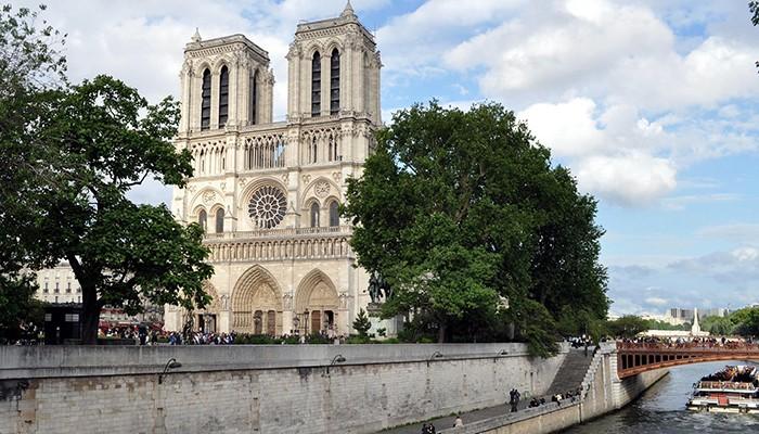 Catedral de Notre-Dame antes do incêndio (Foto: Pixabay)