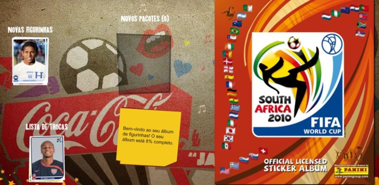 Álbum Virtual da Copa do Mundo 2010  1113a0b3074