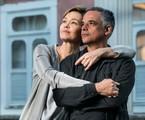 Julia Lemmertz e Ângelo Antonio em 'Espelho da vida' | TV Globo