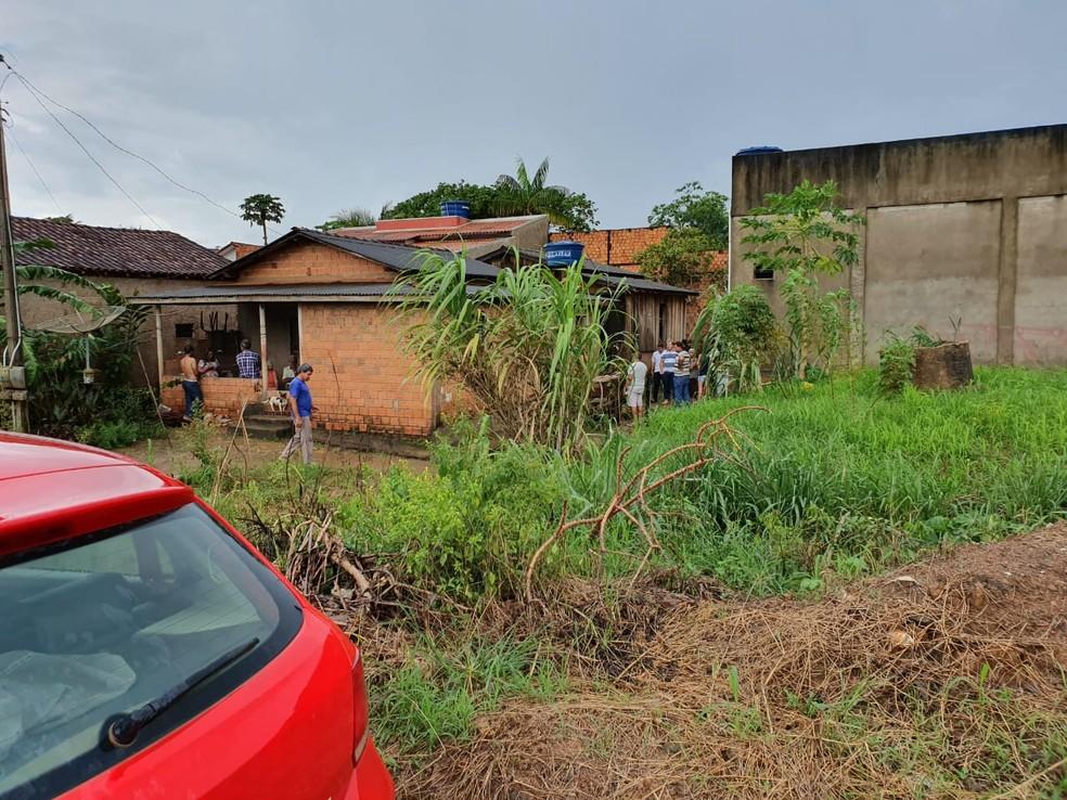 Polícia deve trabalhar no caso como latrocínio — Foto: Portal P1/Reprodução