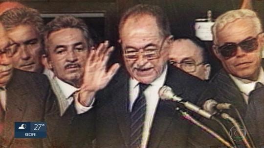 Presidente em exercício, Toffoli inclui nome de Miguel Arraes no Livro dos Heróis da Pátria