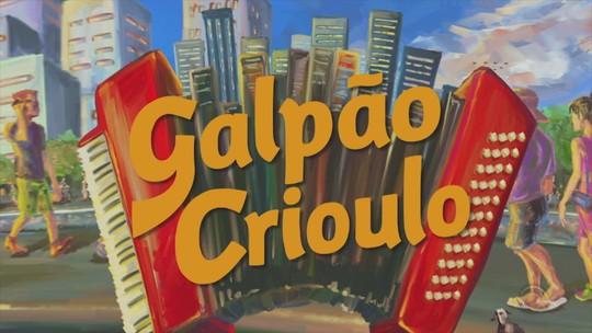 Jairo Lambari Fernandes e a dupla Paloma e Miqüi são convidados do 'Galpão Crioulo'; veja as atrações