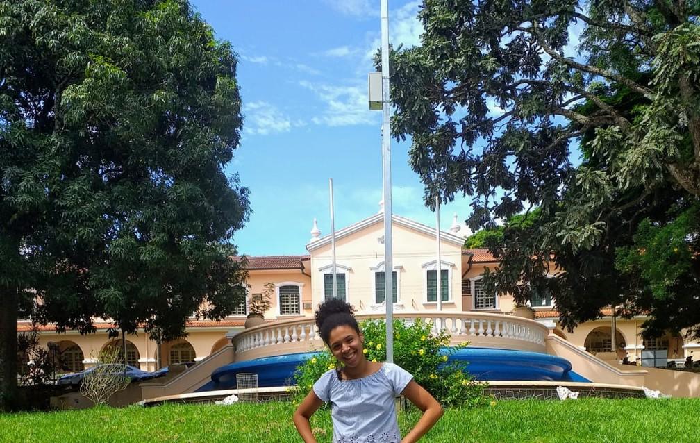 Gabriela Mathias passou em 3º lugar entre os alunos de escola pública para medicina na USP  — Foto: Arquivo Pessoal