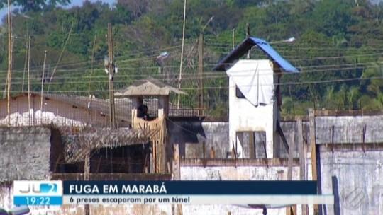 Detentos fogem por túnel em presídio de Marabá, no Pará