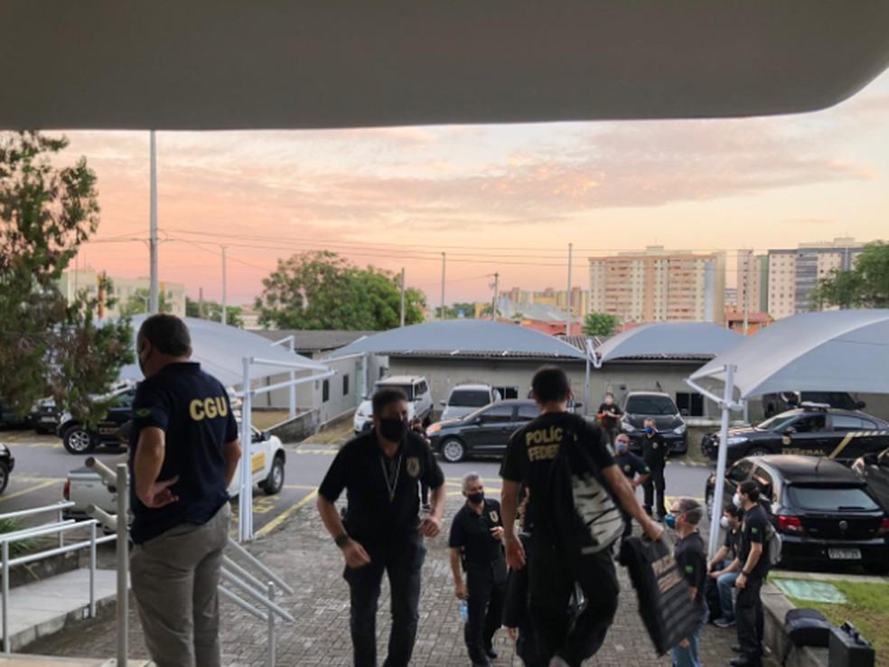 Os mandados foram expedidos pela Justiça Federal do Ceará após representação decorrente de Inquérito Policial. — Foto: Polícia Federal