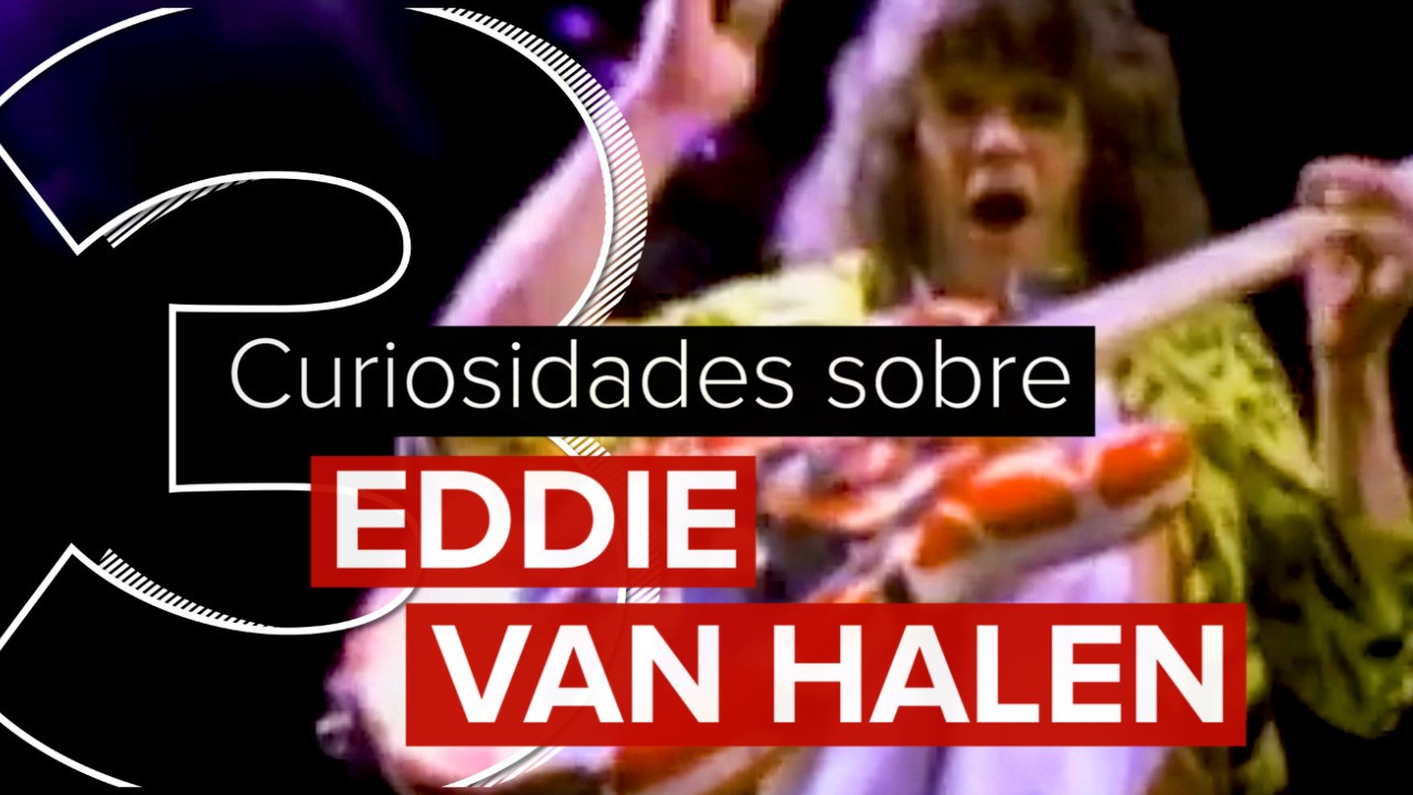 Guitarrista lista 3 curiosidades sobre Eddie Van Halen