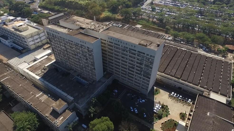 Hospital das Clínicas (HC) de Ribeirão Preto (SP) — Foto: Reprodução/EPTV