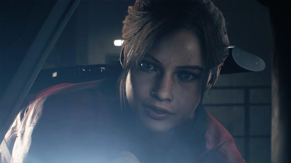 Assim como Leon S. Kennedy, Claire também foi modelada a partir de uma atriz para dar mais realismo em Resident Evil 2 (Foto: Reprodução/DSO Gaming)