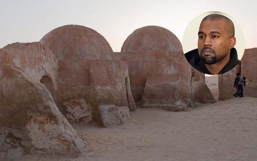 Kanye West desenvolve casas inspiradas em cenário de Star Wars para pessoas sem moradia