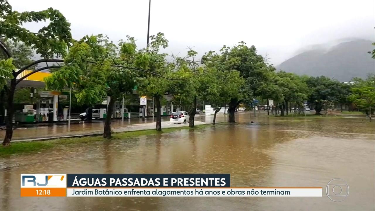Jardim Botânico foi um dos bairros mais atingidos por chuva de terça (22)