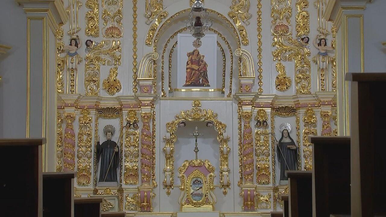 Igreja de Santana, em Sorocaba, terminou de ser restaurada após sete anos