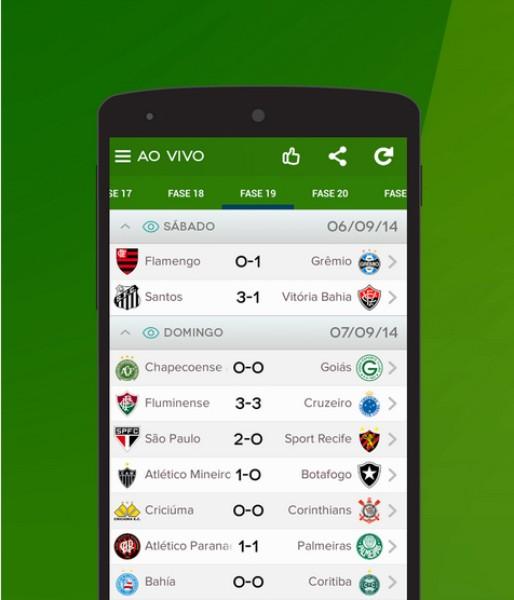 Brasileirão Futebol Ao Vivo