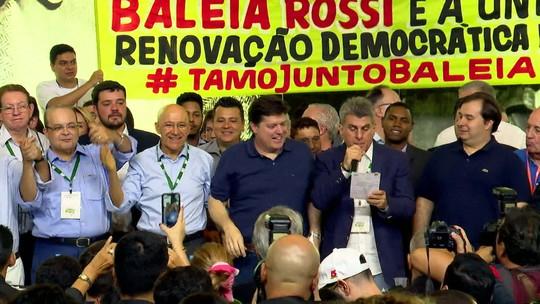 Deputado Baleia Rossi é eleito presidente nacional do MDB