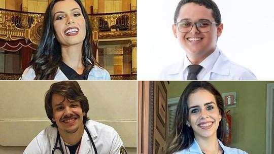 Foto: (Arquivo pessoal de  Amanda Costa, Narcilio Freitas, Alberto Freaza e Maitê Gadelha)
