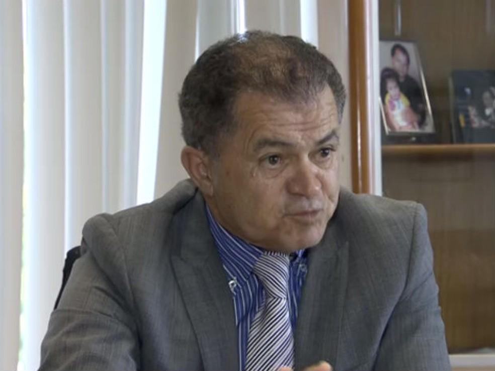 Conselheiro do Tribunal de Contas do DF Manoel Neto, em entrevista — Foto: TV Globo/Reprodução