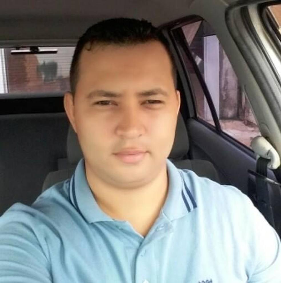 Cristiano Gomes foi preso na sexta-feira (15) por feminicídio em São Manuel  — Foto: Arquivo pessoal