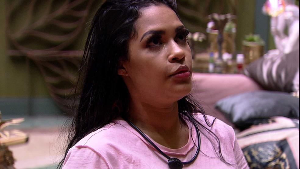 Flayslane aposta em vitória de Daniel: 'Grande vencedor dessa edição' — Foto: Globo