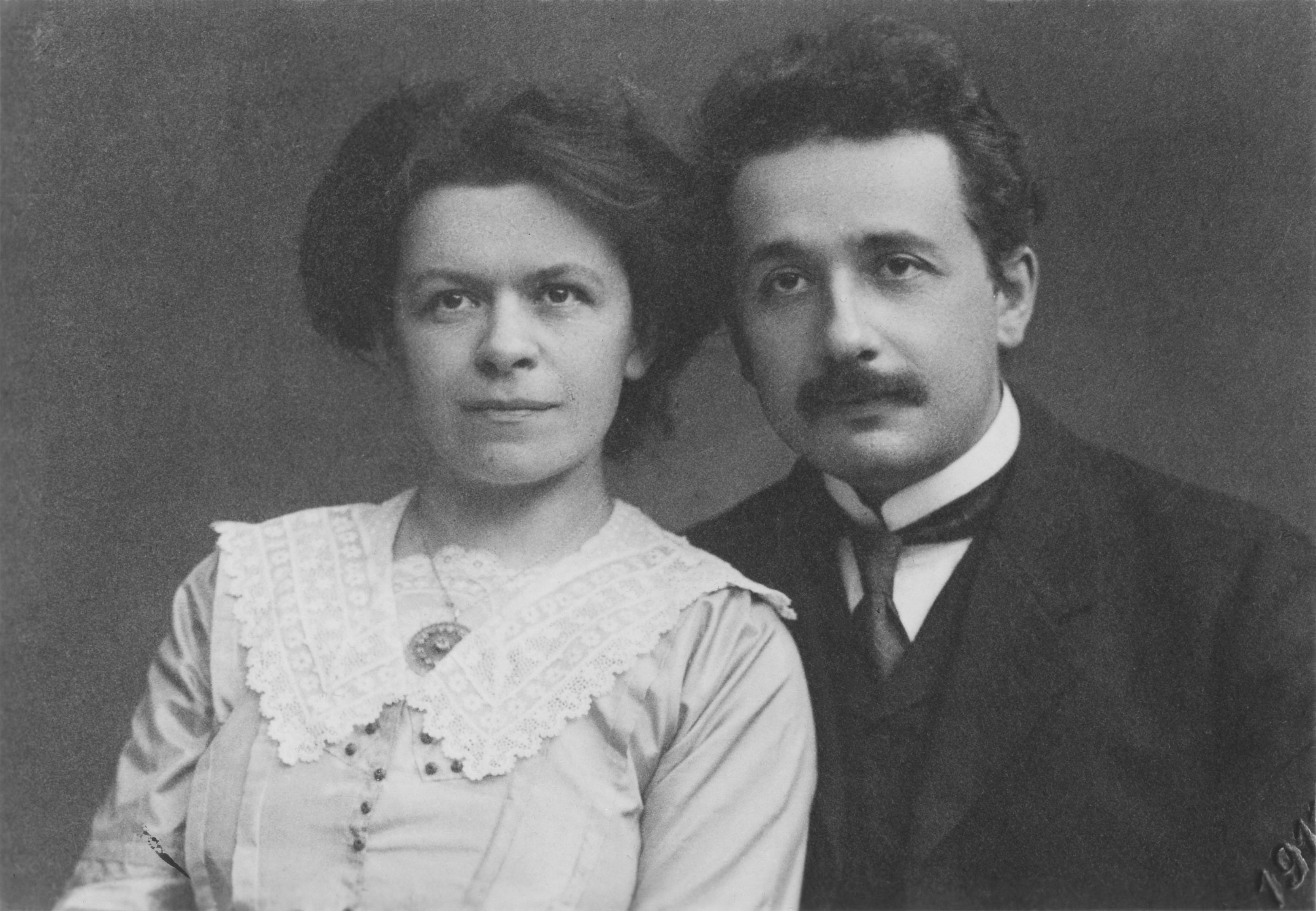 Mileva Maric e Albert Einstein (Foto: Domínio público)