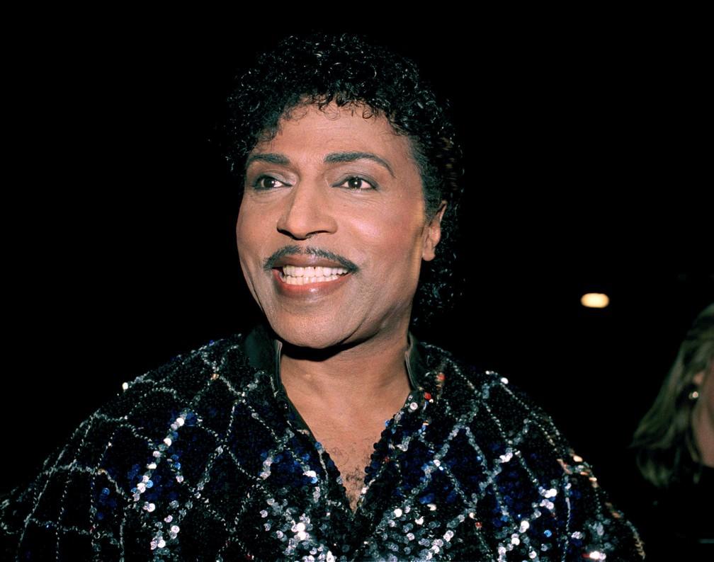 Little Richard, em foto de novembro de 1986 — Foto: AP/Arquivo