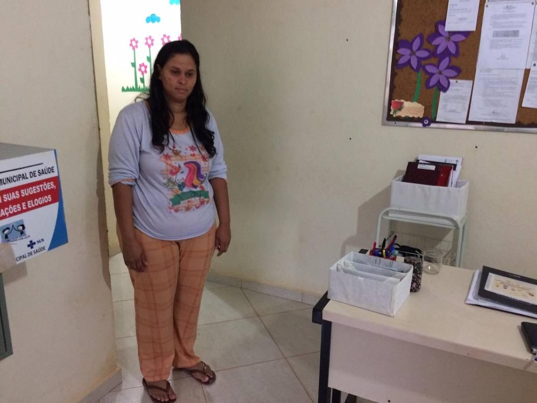 A agente de saúde Raiane Cristian de Resende, de 28 anos, ouviu as sirenes em Brumadinho, MG