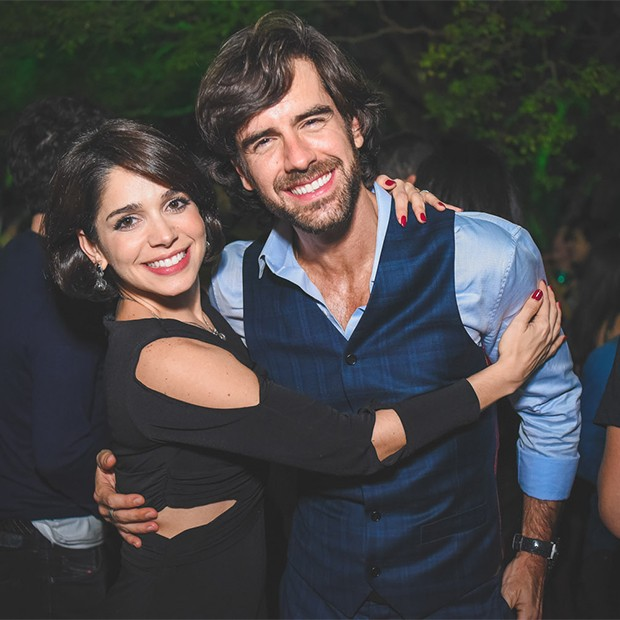 Sabrina Petraglia e Marcos Pitombo  (Foto: Alexandre Virgilio e Rafael Cusato/Brazil News)