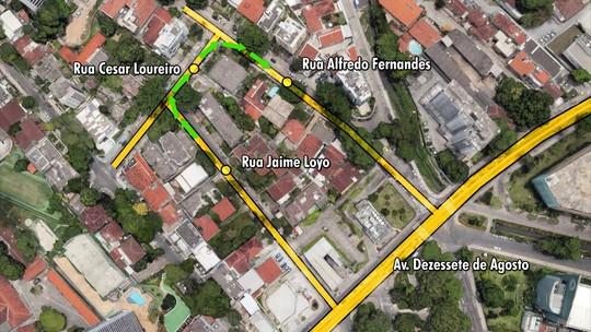 Trânsito no bairro de Casa Forte tem alteração a partir deste sábado