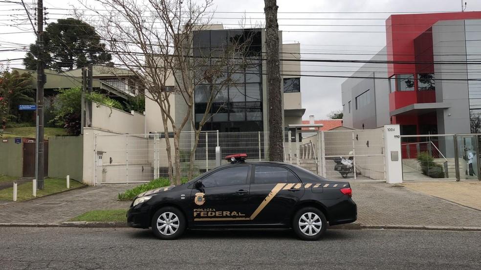 55ª fase da Operação Lava Jato foi deflagrada na manhã desta quarta-feira (26); Agência Reguladora do Paraná (Agepar), em Curitiba, foi alvo de busca e apreensão — Foto: Ana Zimmerman/RPC