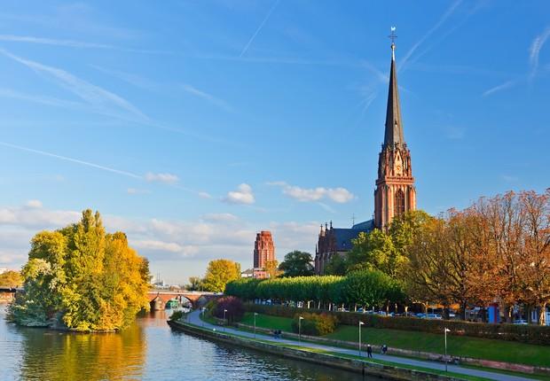 Melhores países: Frankfurt, Alemanha (Foto: Shutterstock)