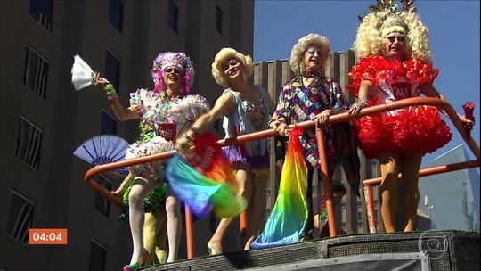 Parada do Orgulho LGBT reúne três milhões de pessoas em São Paulo