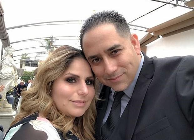 Denisse e o marido David (Foto: Reprodução Facebook)
