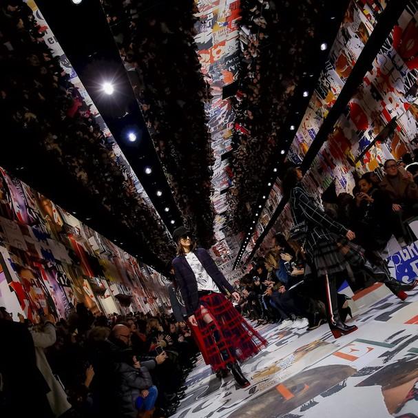Passarela da Dior (Foto: Reprodução)