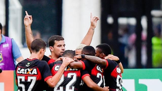 Gol do Vitória diante do Vasco