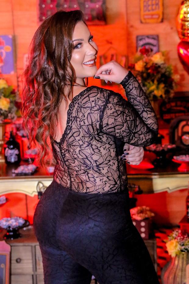 A ex-BBB Maria Cláudia (Foto: Thiago Duran/AgNews)