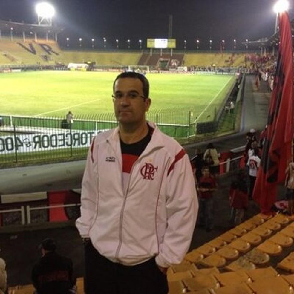Ricardo Lomba, Flamengo (Foto: Reprodução)