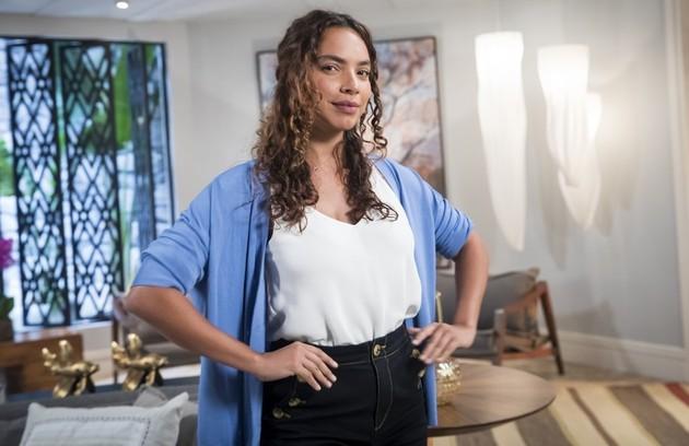 Gabriela Moreyra entrará na novela como Aurora, sobrinha de Lúcia (Cristina Pereira) que irá morar com a tia e se tornará grande amiga de Renzo (Rafael Cardoso) (Foto: TV Globo)