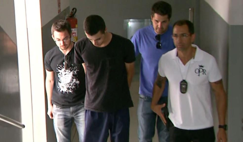 Leonardo Cantieri, de 21 anos, manteve breve relacionamento com a vítima em Franca, SP (Foto: Reprodução/EPTV)