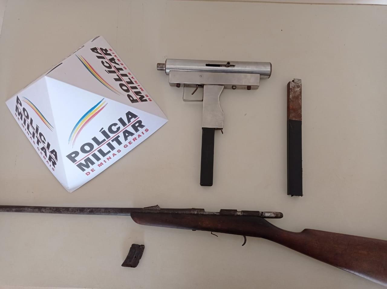 Dois são presos por porte ilegal de arma em Taiobeiras após ameaça em bar