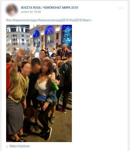 Os comentários em cada publicação humilham as mulheres nas fotos e vídeos (Foto: Reprodução/VKontakte)
