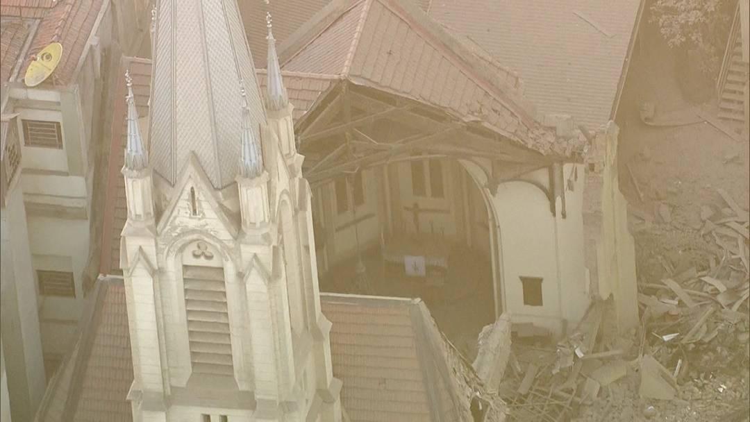 Templo da Igreja Evangélica Luterana de São Paulo foi inaugurado em 1908 e ficou praticamente destruído