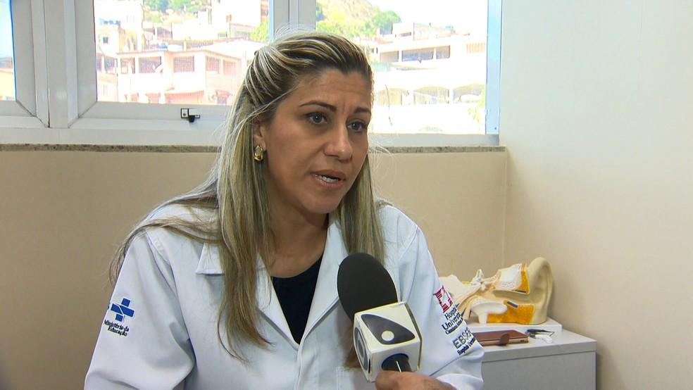 Fonoaudióloga Carmen Barreira Nielsen — Foto: Reprodução/TV Gazeta