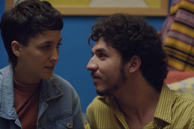 Camila Márdila e João Vitor Silva em 'Feras', da MTV (Foto: Divulgação)