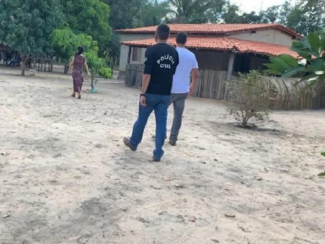 Suspeito de tentar matar andarilho com golpe de faca é preso no Sul do Piauí