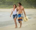Giovanna Antonelli e Emilio Dantas em cena de 'Segundo Sol' | Rede Globo / João Cotta