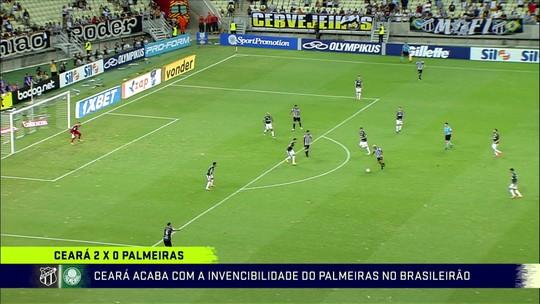 Comentaristas analisam primeira derrota do Palmeiras no Brasileiro e veem queda de rendimento
