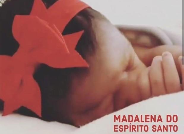 Madalena, neta de Martinho da Vila (Foto: Reprodução/Facebook)