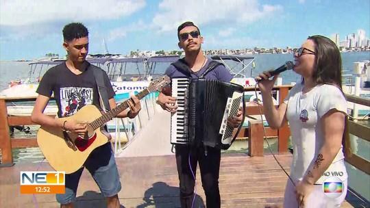Maria Clara faz show em homenagem a Gabriel Diniz: 'tem que lembrar dele com felicidade'